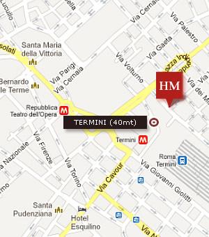 roma termini station map pdf